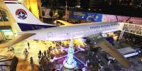 چین میں 'ایئر کرافٹ 'ریسٹورنٹ کی دھوم