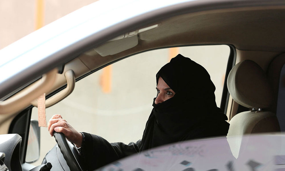 پہلی سعودی خاتون کو کیب ڈرائیور کا لائسنس جاری