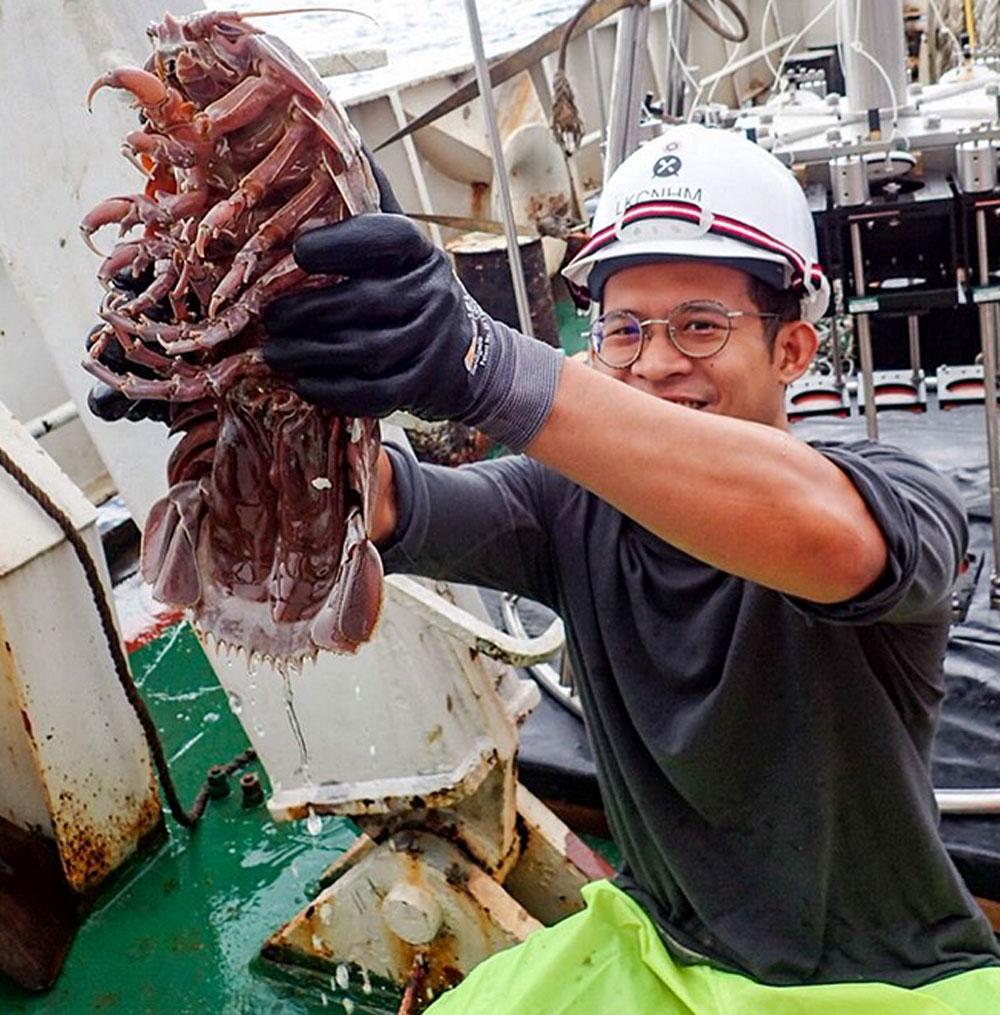 انڈونیشیا کے سمندر سے حیرت انگیز آبی حیات دریافت