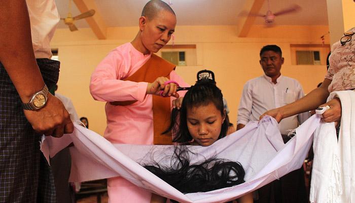 میانمار میں انسانی بالوں کی تجارت