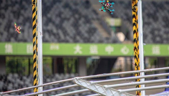 چین میں سالانہ ڈرون ریسنگ2018 کاانعقاد