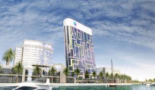 دبئی میں آئی پیڈ کی شکل کی عمارت اپنی مثال آپ