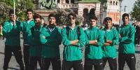 اسٹریٹ چائلڈ عالمی فٹ بال ٹیم پاکستان پہنچ گئی