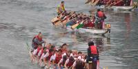 چینی میں روایتی ڈریگن بو ٹ ریس