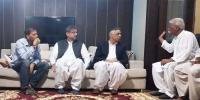 وزیراعظم کی سبیکا شیخ کے گھر آمد، اہلخانہ سے تعزیت
