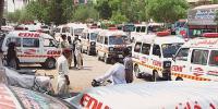 کراچی ہیٹ اسٹروک، سردخانوں میں65 میتوںکا اضافہ