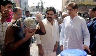 وزیراعلیٰ سندھ کا مختلف علاقوں کا دورہ، ہیٹ اسٹروک سے کوئی موت نہیں ہوئی