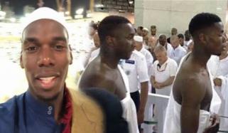 نامور فرانسیسی فٹ بالر پال پوگبا کی عمرہ کی ادائیگی