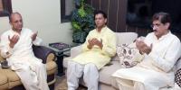 وزیر اعلیٰ سندھ کی سبیکہ کے گھر آمد، لواحقین سے تعزیت