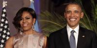 باراک اور مشعل اوباما کی شادی کی یادگار تصویر وائرل