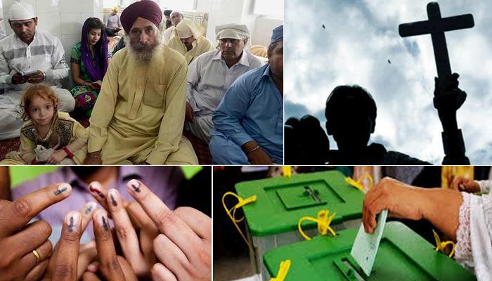 پاکستان میں غیر مسلم رجسٹر ووٹرز کی تعداد میں 30فیصد اضافہ