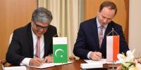 پاکستان اور پولینڈ میں مالیاتی تعاون کے لیے مفاہمت کی یاداشت پر دستخط