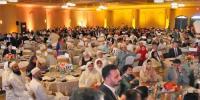 میئر ہیوسٹن کے ہمراہ روایتی افطار ڈنر ،تین ہزار افرادکا روزہ افطار