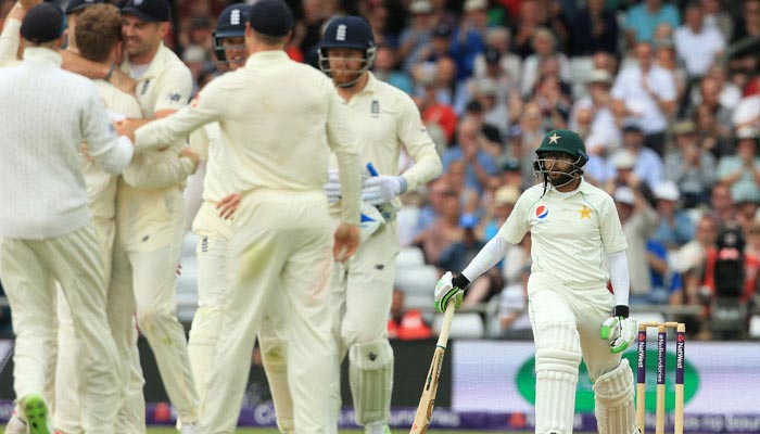 پاکستان نے انگلینڈ میں سیریز جیتنے کا چانس ضائع کردیا