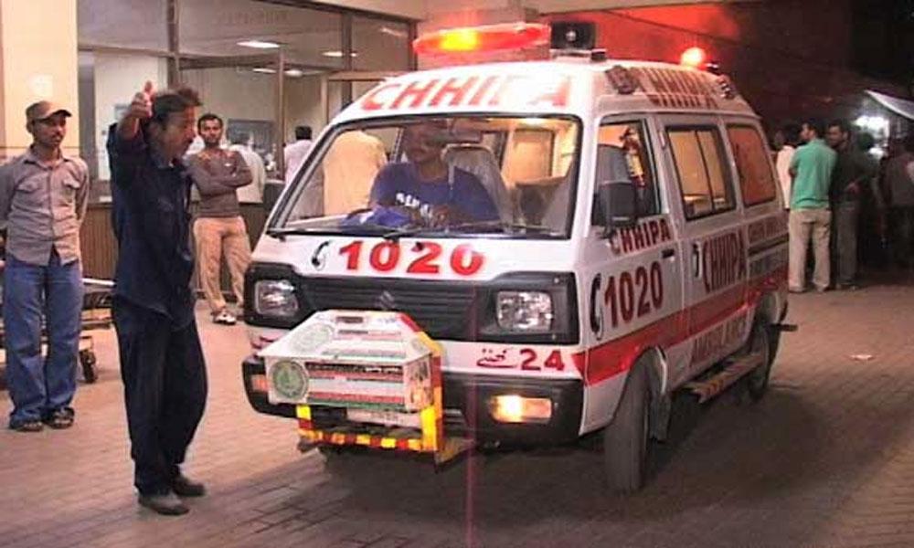 کراچی، کریم آباد میں فائرنگ سے مبینہ ڈاکو ہلاک