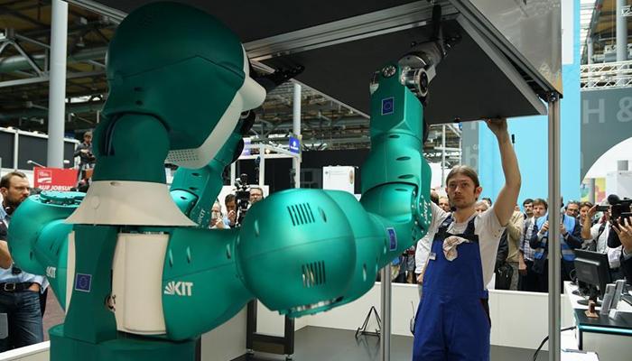 جرمنی: جدید ایجادات اور ٹیکنالوجی سے سجے میلے کا آغاز