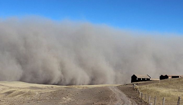 منگولیا میں ریت کا طوفان،نظامِ زندگی درہم برہم