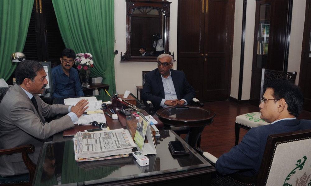 سندھ میں زرعی پانی کی چوکیداری کیلئے رینجرز تعیناتی کا فیصلہ