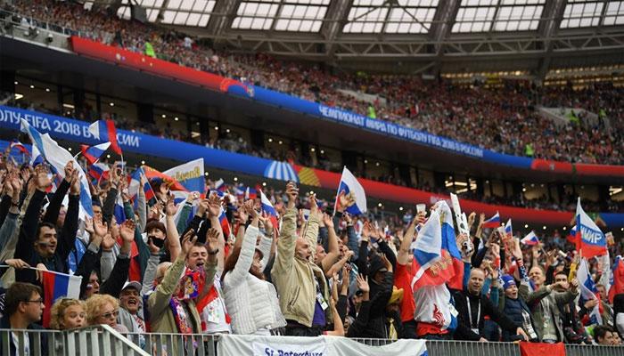 فیفا ورلڈ کپ، افتتاحی میچ روس کے نام، سعودی عرب کو شکست