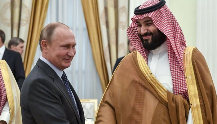 سعودی ولی عہد کی روسی صدر سے ملاقات