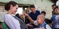 اینجلینا جولی عراقی شہر موصل پہنچ گئیں