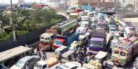 عید کا دوسرا دن، کراچی کے مختلف تفریحی مقامات پر شدید ٹریفک جام