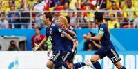 فیفا ورلڈ کپ، جاپان کے ہاتھوں کولمبیا کو شکست