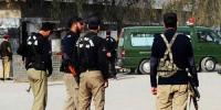 دشت میں دہشتگردوں کا پولیس سے مقابلہ، خودکش دھماکا