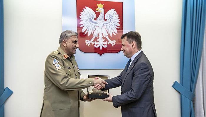 پولینڈ کی علاقائی امن و استحکام کیلئے پاکستانی کوششوں کی تعریف