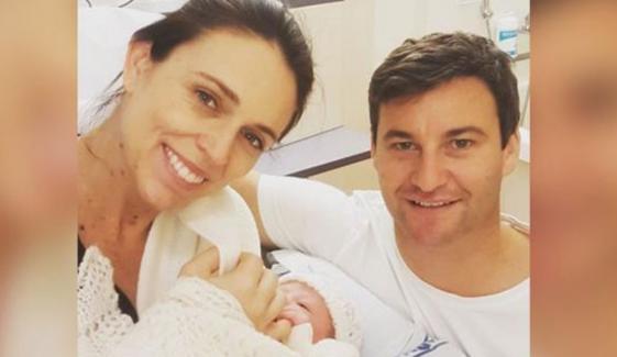 نیو زی لینڈ کی وزیر اعظم نے بچی کو جنم دیا