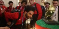 محمد صلاح کیلئے سالگرہ پر گولڈن بوٹ والا کیک