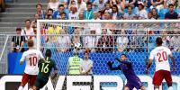 عالمی کپ فٹبال ، ڈنمارک اور آسٹریلیا کا میچ برابر