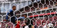 فٹبال ورلڈ کپ میں فرانس کی پیرو کو مات