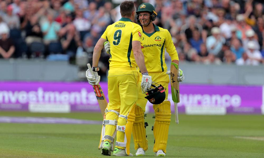 چوتھا ون ڈے:انگلینڈ نے آسٹریلیا کو 6وکٹوں سے ہرادیا