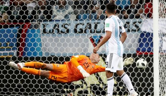 ورلڈ کپ: کروشیا نے ارجنٹینا کو 3 گول سے ہرادیا