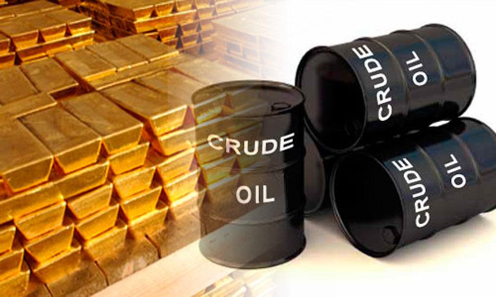 عالمی منڈی میں تیل مہنگا اور سونا سستا