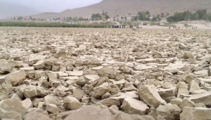 کوئٹہ کی ہنہ جھیل ایک بار پھرخشک سالی کاشکار