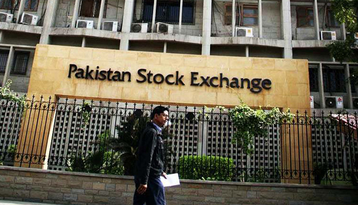 بازار حصص، 100انڈیکس میں 730 پوائنٹس کی کمی