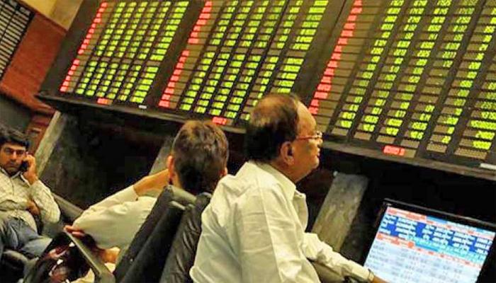 بازار حصص : 100 انڈیکس میں 267پوائنٹس کا اضافہ