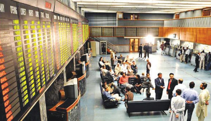 اسٹاک مارکیٹ 471پوائنٹس کے اضافے پر بند