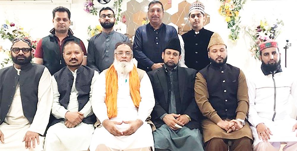 پاکستانی حفاظ کرام کے اعزاز میں ظہرانہ