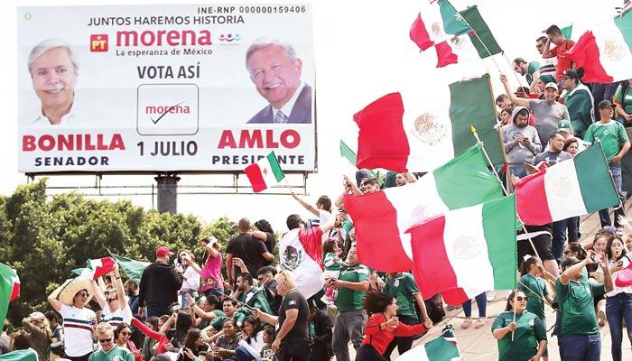 میکسیکو میں بائیں بازو کی فتح