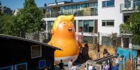 لندن میں امریکی صدر کی آمد پر ٹرمپ بے بی غبارہ اڑے گا