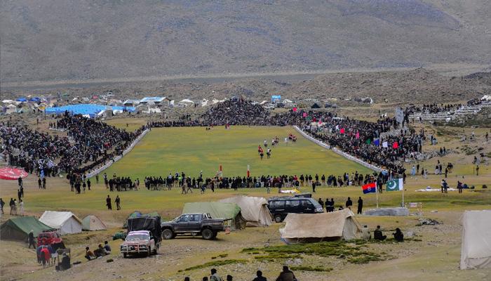 دنیا کے بلند ترین گراؤنڈ میں شندور پولو فیسٹیول
