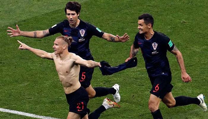 کروشیا ورلڈ کپ فٹبال کے سیمی فائنل میں پہنچ گیا