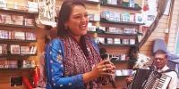لندن میں'صوفی نائٹ'، سائرہ پیٹر رنگ جمادیا