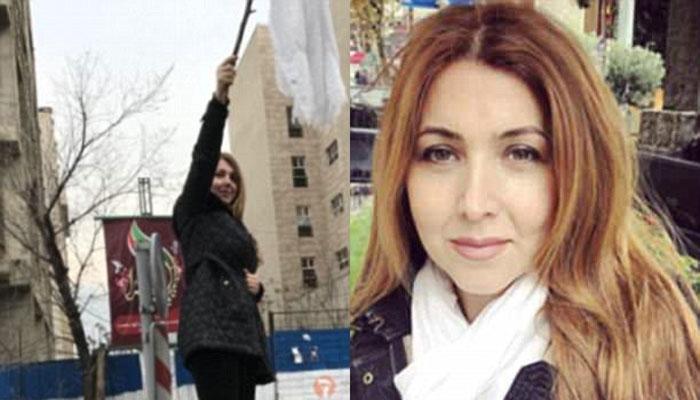 اسکارف کی بے حرمتی پر ایرانی خاتون کو 20 سال قید کی سزا