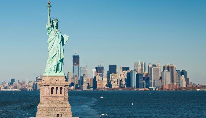 امریکی آزادی اور امریکا فرانس دوستی کی علامت '' مجسمہ آزادی''