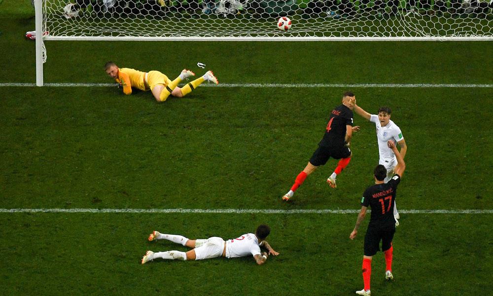 کروشیا نے انگلینڈ کو شکست دیکر پہلی بار ورلڈ کپ کے فائنل میں جگہ بنالی