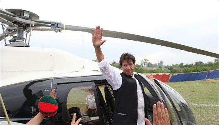 سرکاری ہیلی کاپٹر کا استعمال: عمران خان 18 جولائی کو طلب